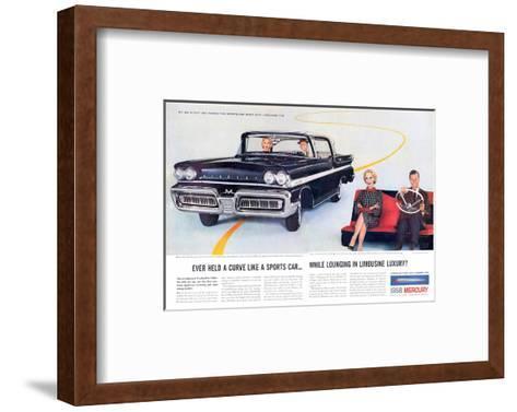 1958 Mercury Sports-Car Spirit--Framed Art Print