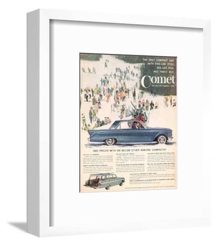 1961 Mercury Comet - Style--Framed Art Print