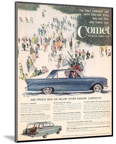 1961 Mercury Comet - Style--Mounted Art Print