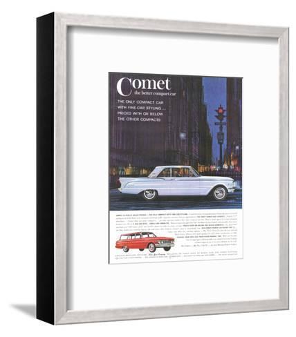 1961 Mercury-Comet Family Size--Framed Art Print