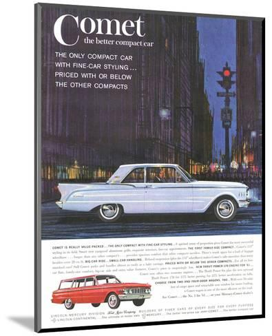 1961 Mercury-Comet Family Size--Mounted Art Print