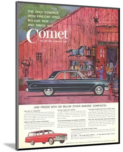 1961 Mercury-Comet Fine-Car…--Mounted Art Print