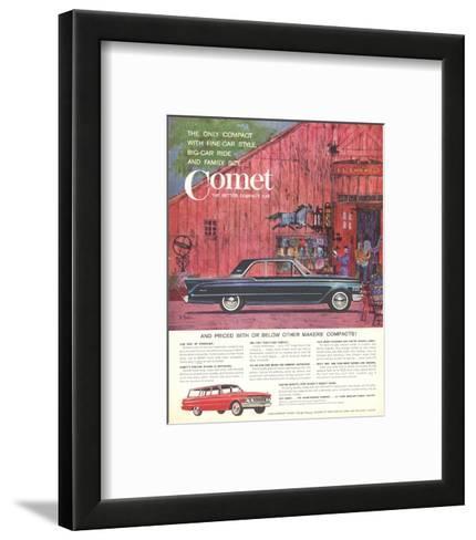 1961 Mercury-Comet Fine-Car…--Framed Art Print