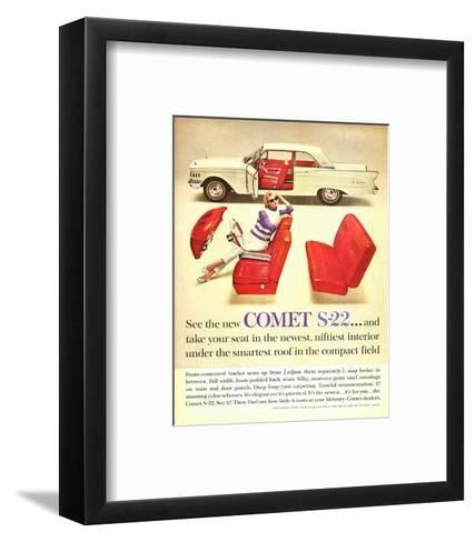 1961 Mercury-New Comet S-22--Framed Art Print