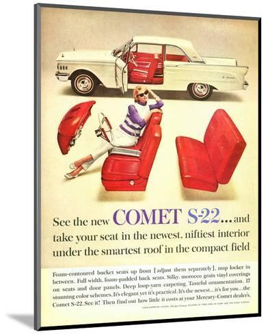 1961 Mercury-New Comet S-22--Mounted Art Print