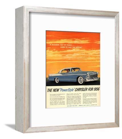 1956 Chrysler Newport--Framed Art Print