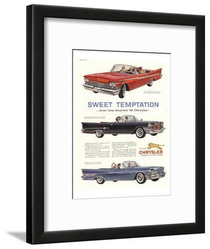 1956 Chrysler-Sweet Temptaion--Framed Art Print