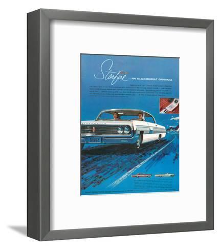 1962 GM Oldsmobile Starfire--Framed Art Print