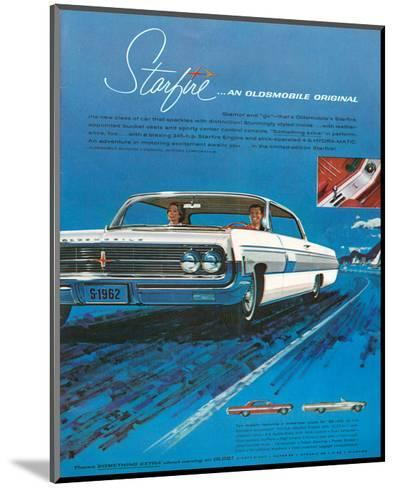 1962 GM Oldsmobile Starfire--Mounted Art Print
