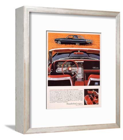 1964 Thunderbird - Flight Plan--Framed Art Print