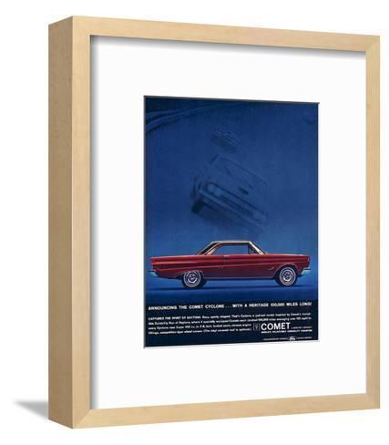 1964 Mercury - Comet Cyclone--Framed Art Print