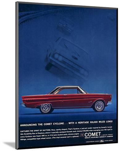 1964 Mercury - Comet Cyclone--Mounted Art Print