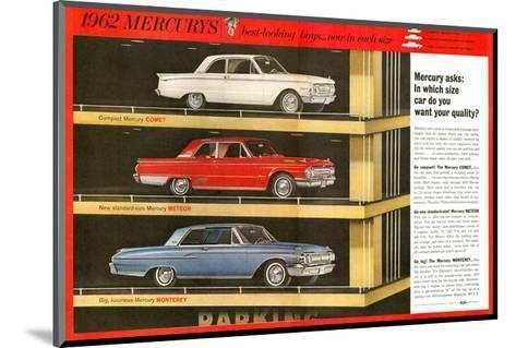 1962 Mercury - Your Quality--Mounted Art Print