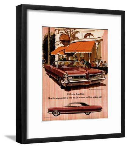 1965 GM Pontiac-Wide Tracks--Framed Art Print