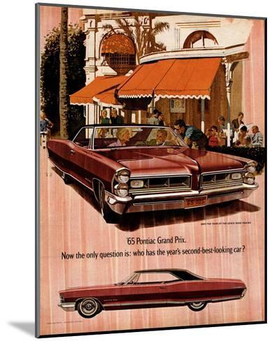 1965 GM Pontiac-Wide Tracks--Mounted Art Print
