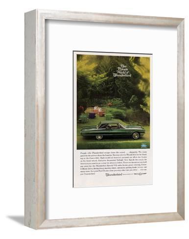1965 People Who Thunderbird…--Framed Art Print