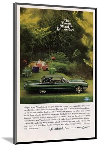1965 People Who Thunderbird…--Mounted Art Print