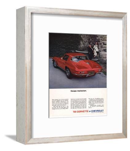 1966 Corvette Escape Mechanism--Framed Art Print