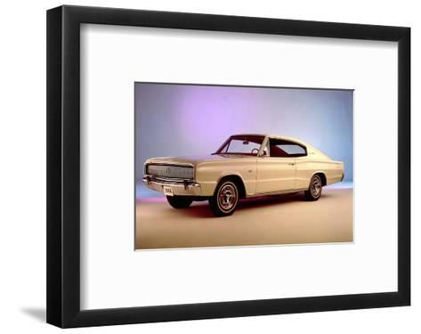 1966 Dodge Charger 1st Year--Framed Art Print