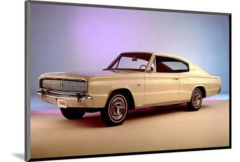 1966 Dodge Charger 1st Year--Mounted Art Print