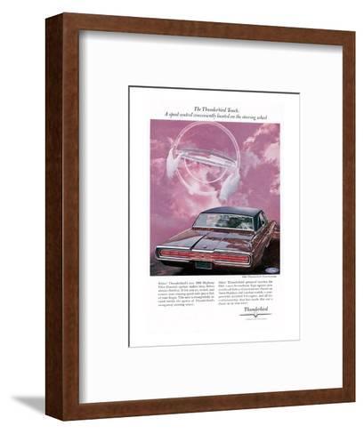 1966 Thunderbird Speed Control--Framed Art Print