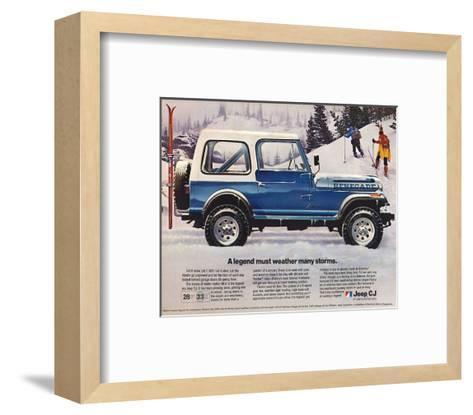 1982 Jeep Renegade - a Legend--Framed Art Print