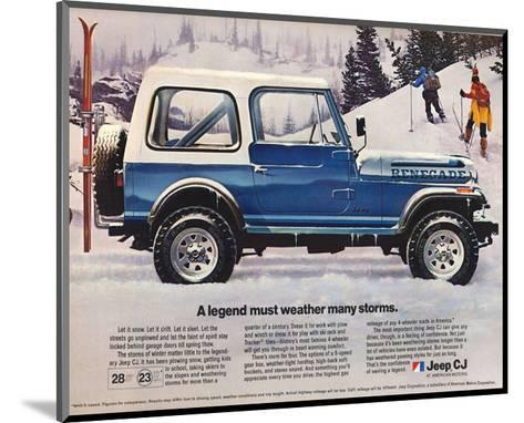 1982 Jeep Renegade - a Legend--Mounted Art Print