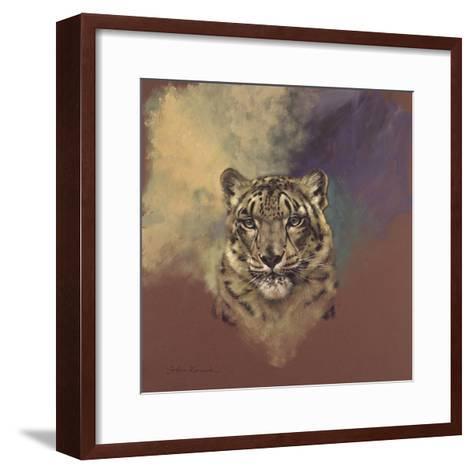 Snow Leopard-Stan Kaminski-Framed Art Print