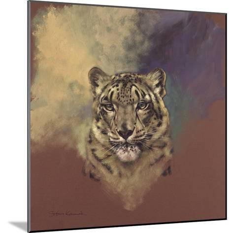 Snow Leopard-Stan Kaminski-Mounted Giclee Print