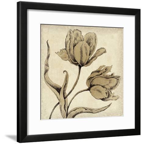 Paper Tulip II-Maria Mendez-Framed Art Print