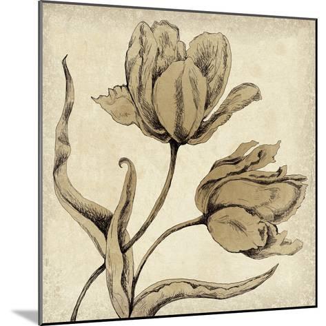 Paper Tulip II-Maria Mendez-Mounted Giclee Print
