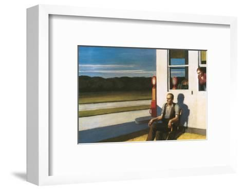 Four Lane road, 1956-Edward Hopper-Framed Art Print
