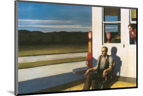 Four Lane road, 1956-Edward Hopper-Mounted Premium Giclee Print