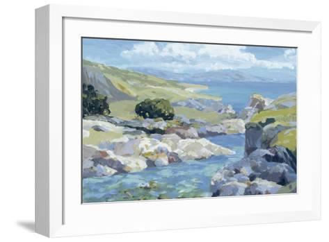 Coastal Inlet II-Julian Askins-Framed Art Print