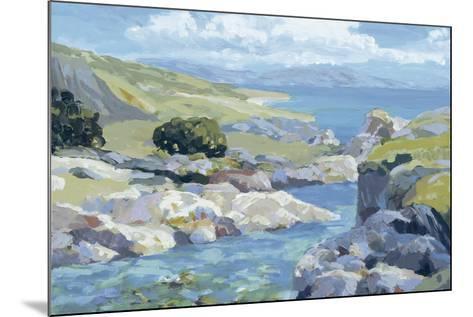 Coastal Inlet II-Julian Askins-Mounted Giclee Print