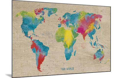 Our World-Sandra Jacobs-Mounted Giclee Print