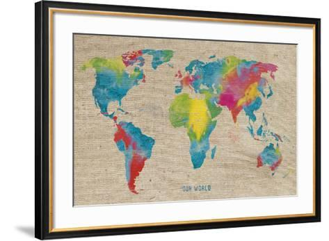 Our World-Sandra Jacobs-Framed Art Print
