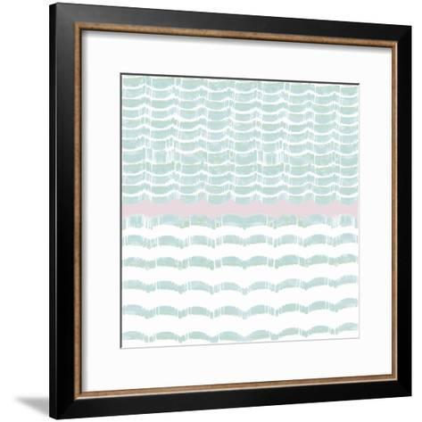 Refraction - Aqua- Sukhanlee-Framed Art Print