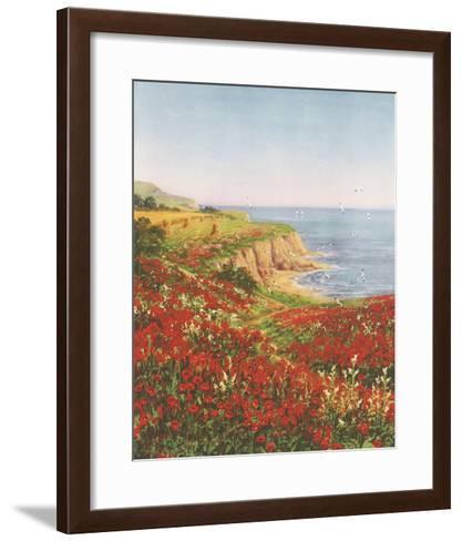 Poppyland-John Halford Ross-Framed Art Print