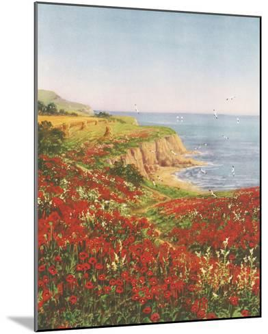 Poppyland-John Halford Ross-Mounted Giclee Print