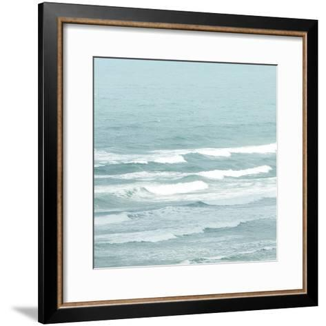 Gentle Waves-Joseph Eta-Framed Art Print