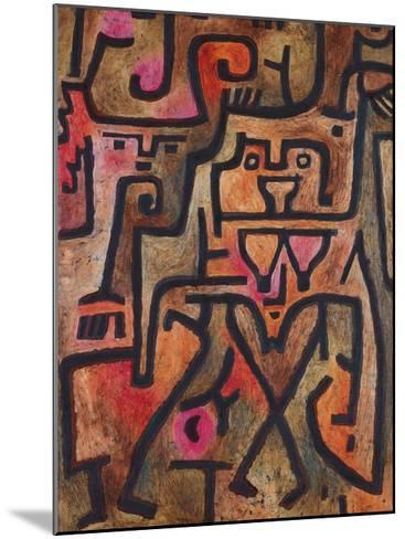 Forest Witches, 1938-Paul Klee-Mounted Premium Giclee Print