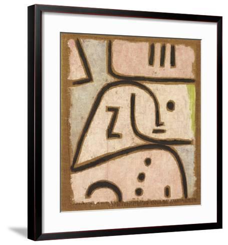 WI (In Memoriam)-Paul Klee-Framed Art Print