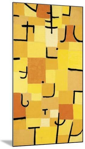 Signs in Yellow-Paul Klee-Mounted Premium Giclee Print