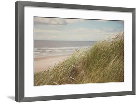 Beach Grass I-Irene Suchocki-Framed Art Print