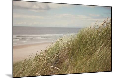 Beach Grass I-Irene Suchocki-Mounted Art Print