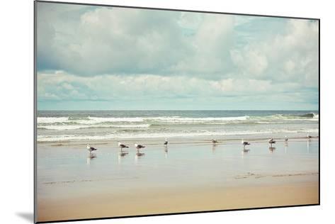 Beachcombing-Irene Suchocki-Mounted Art Print