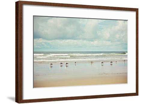 Beachcombing-Irene Suchocki-Framed Art Print