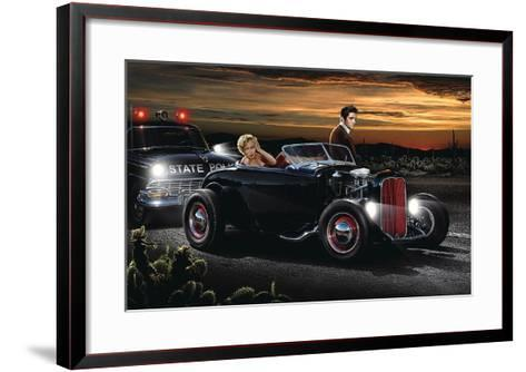 Joy Ride-Helen Flint-Framed Art Print