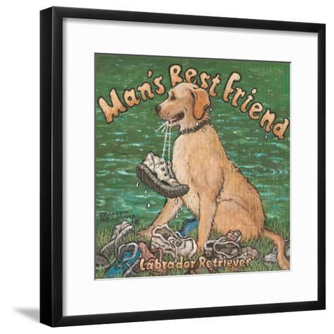 Man?s Best Friend-Janet Kruskamp-Framed Art Print